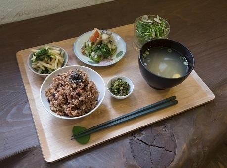 酵素玄米と9種のお野菜セット